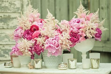 ivory wedding centerpieces pink and ivory wedding centerpieces