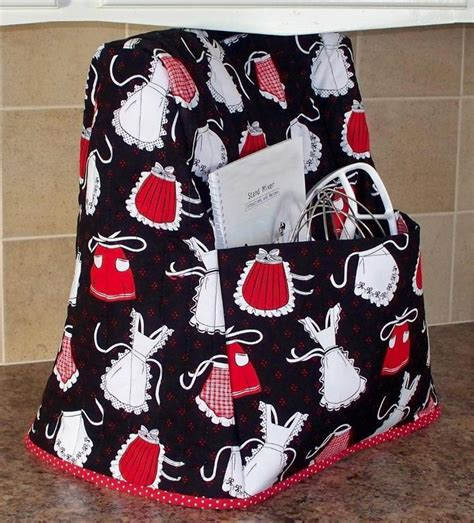 Kitchenaid Mixer Quilted Cover Mixer Mate Kitchen By Littlelambspatterns Sewing