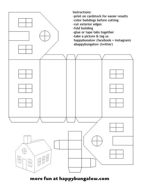 Christmas Paper Houses Templates Google Zoeken Vystřihov 225 Nky Paper Houses Christmas Paper Paper Houses Templates
