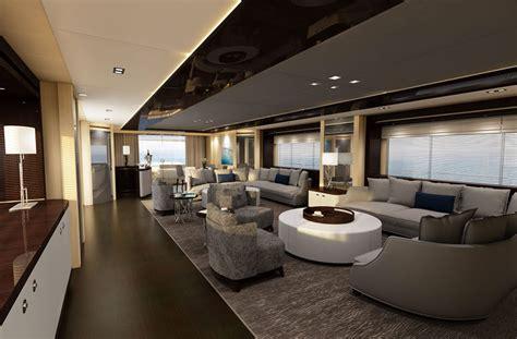 yacht di lusso interni yacht di lusso interni da sogno per un maestoso 47 metri