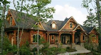 Rustic Cabin House Plans by Smoky Mountain House Plan 3