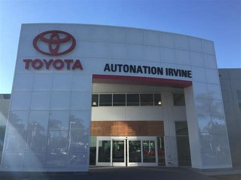 Autonation Toyota Scion Irvine Autonation Toyota Scion Irvine Car Dealership In Irvine