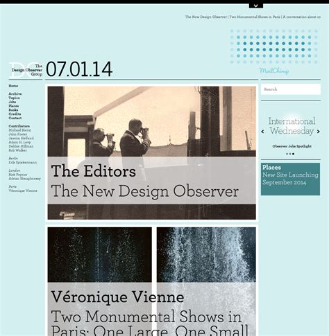 Design Observer | questions for the new design observer typographica