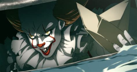 film anime terbaik movie pennywise goes anime and it is perfect movieweb