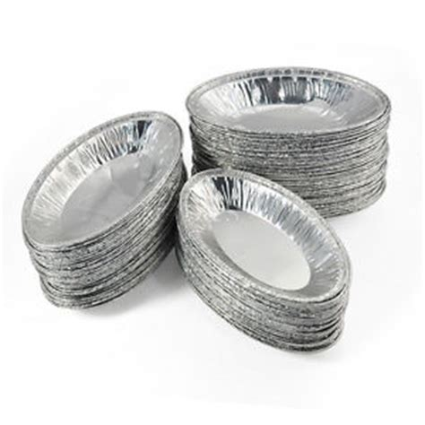 Alumunium Foil Cup Oval 125pcs oval disposable aluminum foil cup muffin