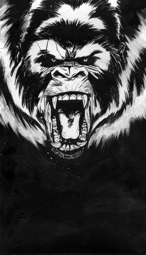 silverback tattoo mad gorilla by marco itri d5sojaz jpg 1024 215 1779