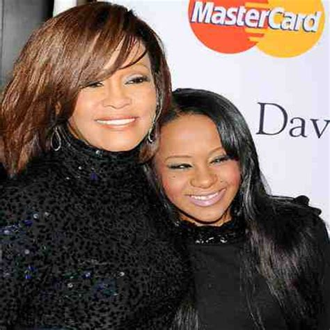 whitney houston and her daughter bobbi kristina receives all from whitney houston the link up