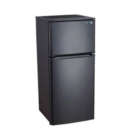 vissani 4 3 cu ft mini refrigerator in black hvdr430be