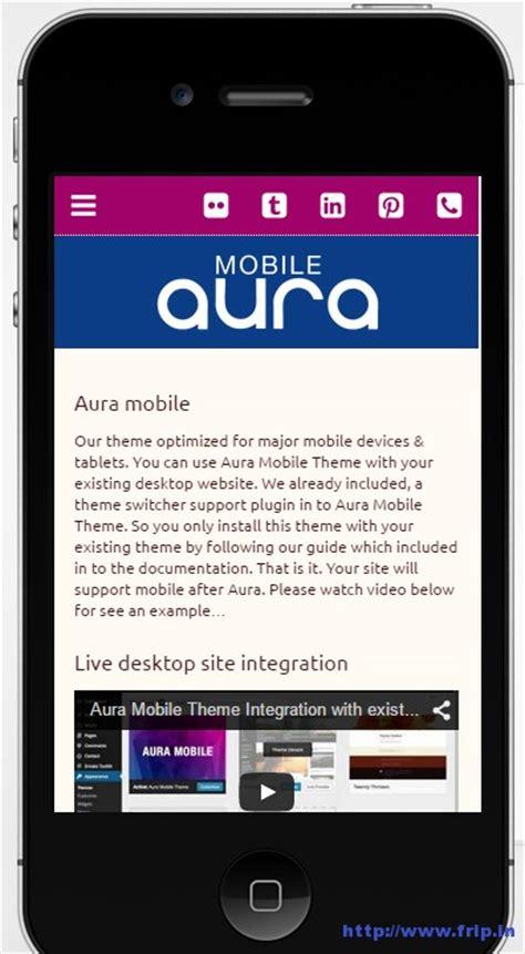 theme wordpress in mobile 25 best free premium wordpress mobile themes 2015 frip in