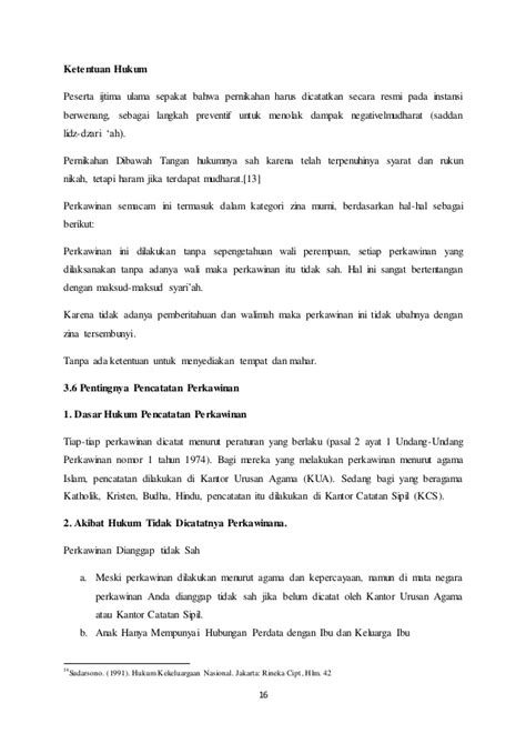 Pembaruan Hukum Sengketa Hak Asuh Anak Di Indonesia makalah hukum perkawinan di indonesia