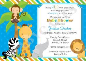 safari themed baby shower invitation templates free jungle invitation template jungle jungle animal