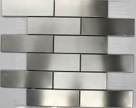 quot subway quot stainless steel mosaic tile backsplash tiles