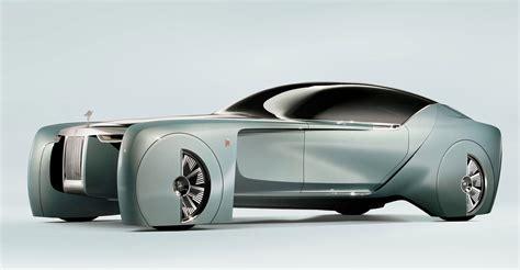 rolls royce concept car rolls royce driverless concept car