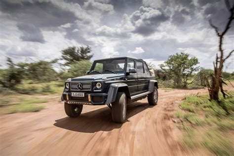 mercedes maybach g650 landaulet to be auctioned for