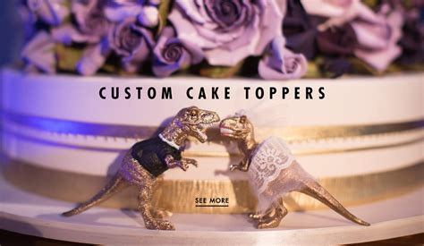 7 Awesome Wedding Cake Toppers by Wedding Cake Toppers 7 And Unique Exles Inside
