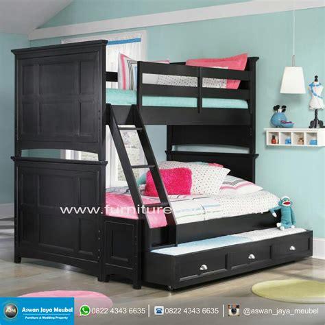 Tempat Tidur Susun Minimalis tempat tidur minimalis susun harga murah aswan jaya mebel