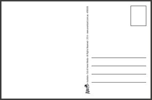 large postcard template postcard size template templates data