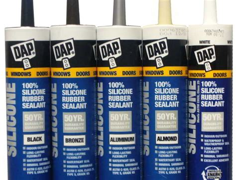 dap silicone dap colored caulk silicone rubber sealant