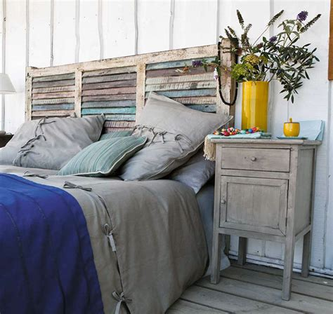 wood fence headboard 50 round beds that will transform your bedroom