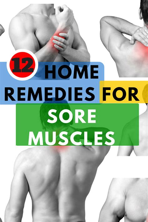 12 home remedies for sore muscles top home remedies