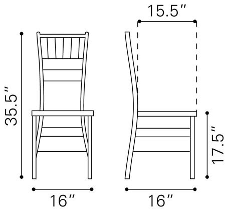 Dining Chair Measurements Dimensions Of Dining Chair Images