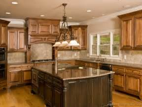 Kitchen Cabinet Ideas by Pictures Of Kitchens Traditional Two Tone Kitchen