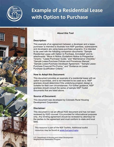 how does lease with option to buy a house work lease purchase agreement download free premium