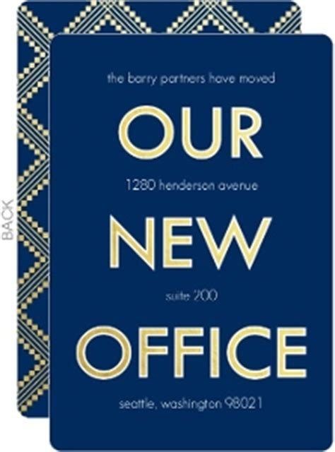 invitation cards templates for new office opening cheap moving announcements invite shop
