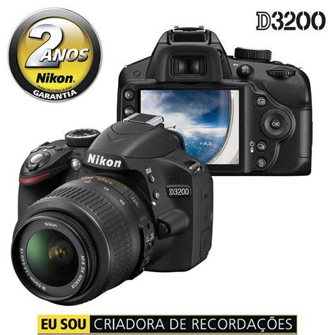 digital nikon d3200 c 226 mera digital nikon d3200 preta 24 2 mp lcd 3 0