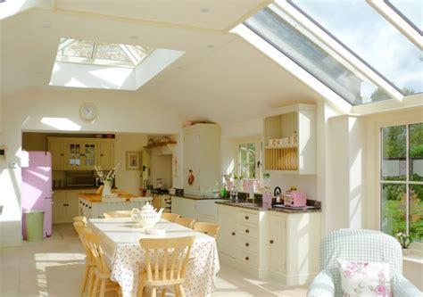 Narrow Kitchen Design With Island conservatories orangeries roof lanterns hardwood