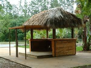 Tiki Hut Building Plans Custom Built Tiki Huts Tiki Bars Nationwide Delivery