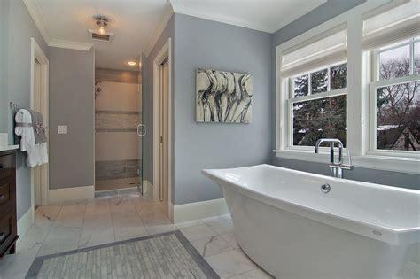 gray paint bathroom pretty fog luggage in bathroom transitional with