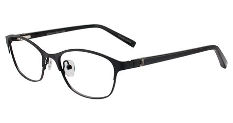 J532 Black jones new york j138 eyeglasses jones new york authorized