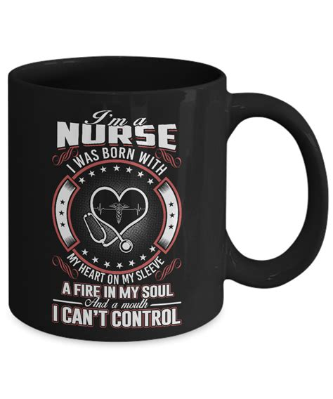 Where Can I Buy An International Visa Gift Card - best nurse gift mug i m a nurse i was born with my heart on my sleeve a fire in my