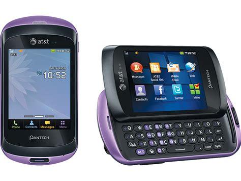 pantech basic messaging bluetooth phone att