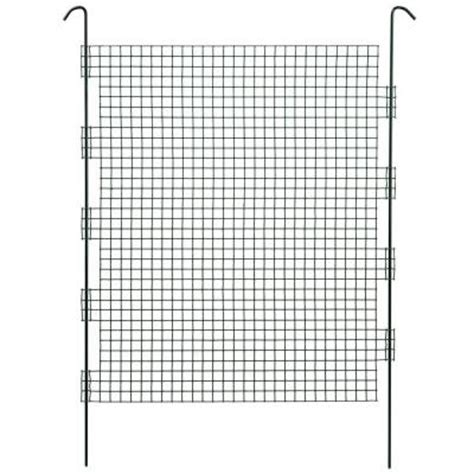 crafted products 18 in high steel wire mesh plant fence