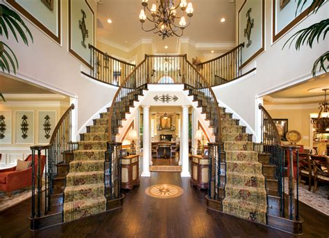 dual staircase house plans double staircase foyer house plans twin stairs pinterest staircases foyers and