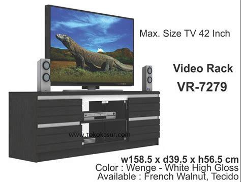 Vr 7506 Expo Buffet Meja Rak Tv rak tv tempat tv audio rack murah