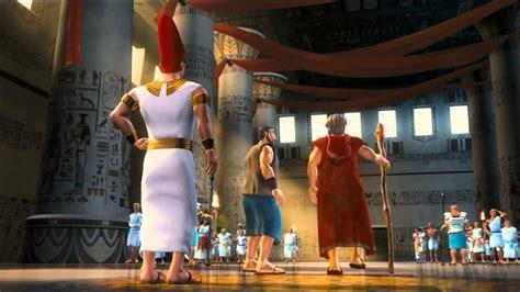 cartoon film of moses the ten commandments 2009 bible animated movie hd