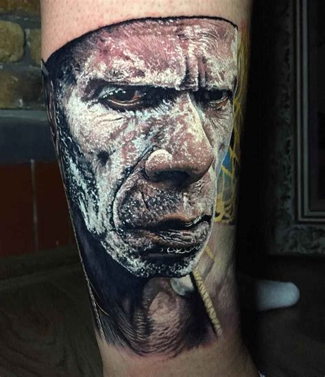 incredible photorealism of steve butcher inkppl tattoo