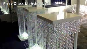 Used Crystal Chandeliers For Sale Led Custom Bespoke Crystal Wedding Pillars Chandelier By