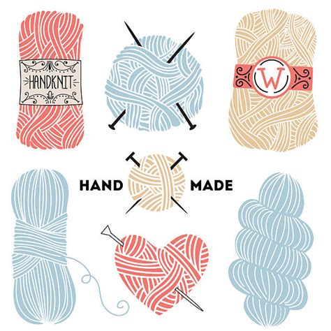 knit illustration royalty free knitting clip vector images