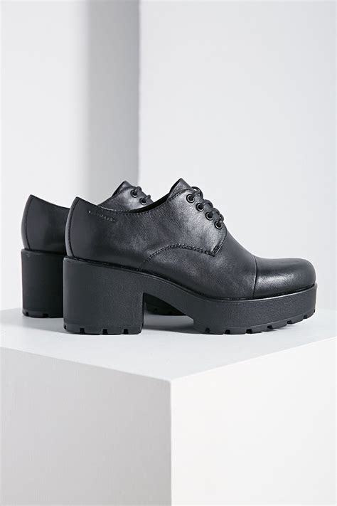 vagabond oxford shoes vagabond dioon leather oxford in black lyst