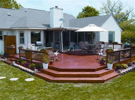 inspirational wood deck designs interior design
