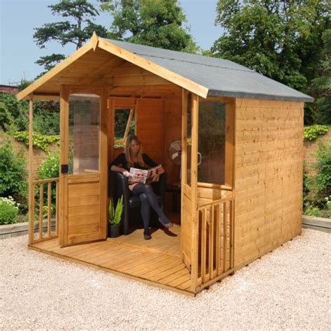 Buy Cheap Garden Shed by Forest 8x8 Hollington Summerhouse Buy Sheds Direct Uk