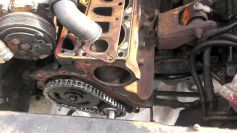 Jeep 4 0 Rear Seal Replacement 89 Timing Set Front Seal Install
