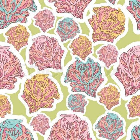 fabric pattern styles retro style vector seamless pattern fabric wallpaper