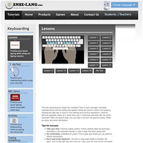 keyboard tutorial and typing test mes sites dactylo pearltrees