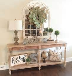 Decorating A Console Table Best 25 Foyer Table Decor Ideas On Console Table Decor Entry Table Decorations And