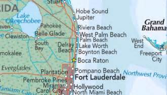 map of florida boca raton boca raton map florida maps